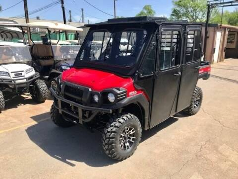 2021 Kawasaki Mule PRO FXT EPS 4x4 A/C Cab for sale at METRO GOLF CARS INC in Fort Worth TX