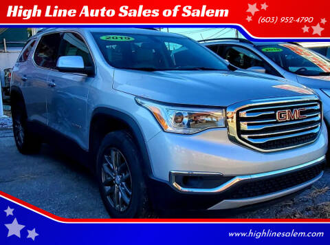 2019 GMC Acadia for sale at High Line Auto Sales of Salem in Salem NH