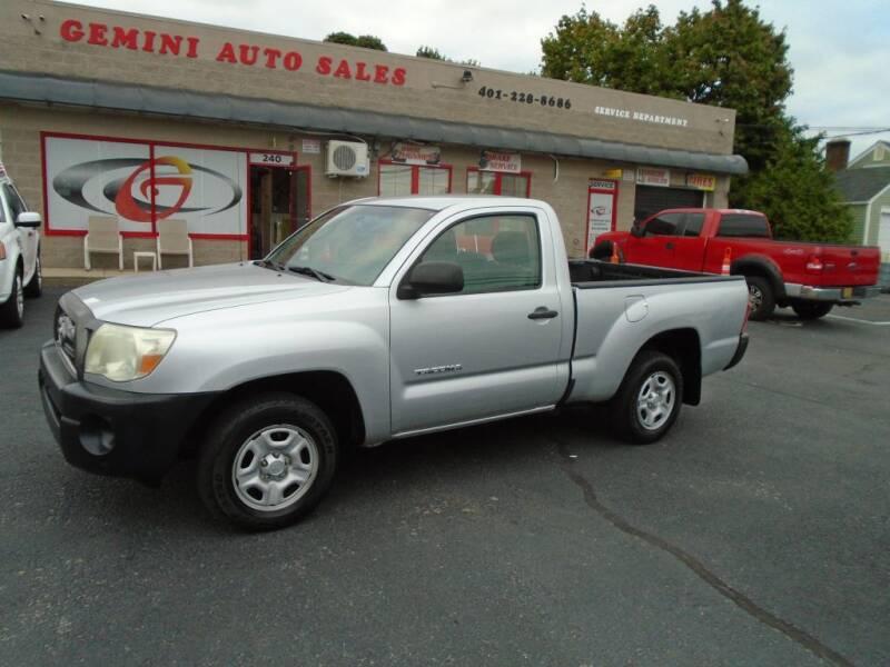 2007 Toyota Tacoma for sale at Gemini Auto Sales in Providence RI