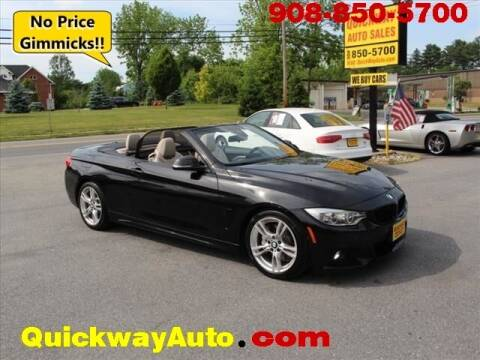 2015 BMW 4 Series for sale at Quickway Auto Sales in Hackettstown NJ