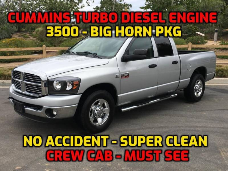 2008 Dodge Ram Pickup 3500 for sale at OC Used Auto in Newport Beach CA