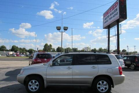 2002 Toyota Highlander for sale at United Auto Sales in Oklahoma City OK