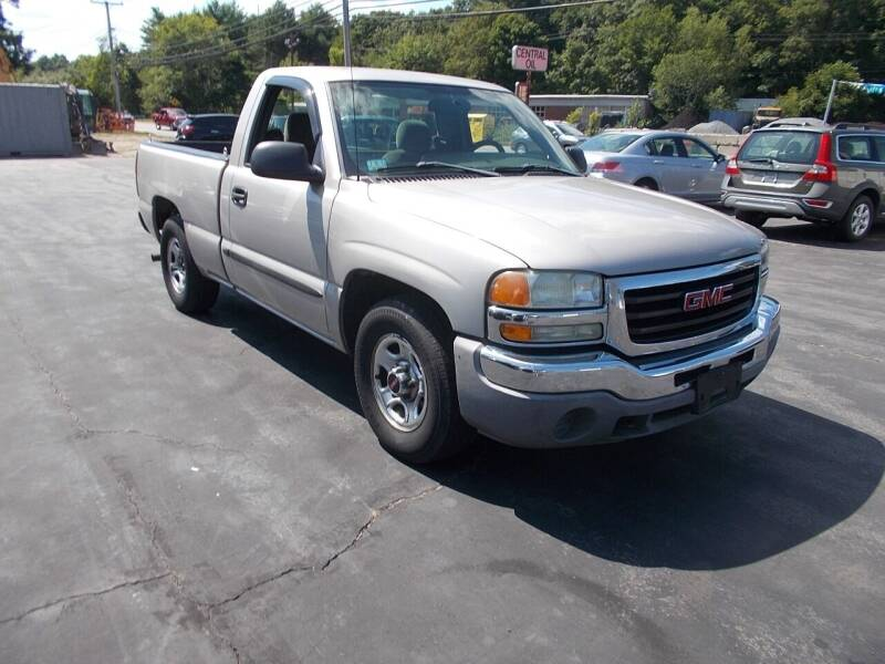 2004 GMC Sierra 1500 for sale at MATTESON MOTORS in Raynham MA