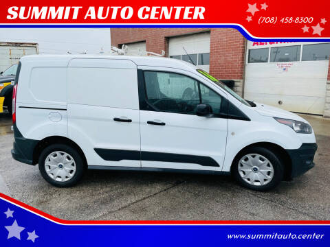 2016 Ford Transit Connect Cargo for sale at SUMMIT AUTO CENTER in Summit IL