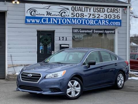 2017 Subaru Legacy for sale at Clinton MotorCars in Shrewsbury MA