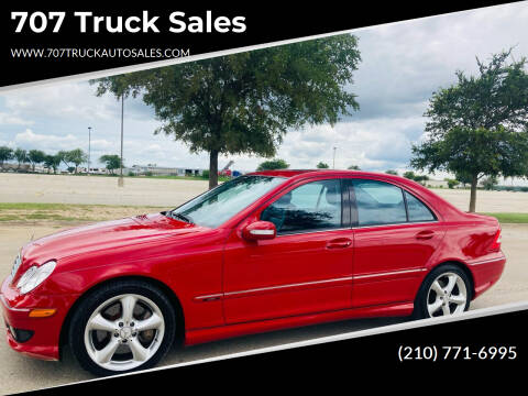 2006 Mercedes-Benz C-Class for sale at 707 Truck Sales in San Antonio TX