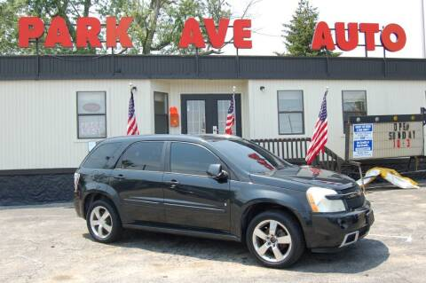 2009 Chevrolet Equinox for sale at Park Ave Auto Inc. in Worcester MA