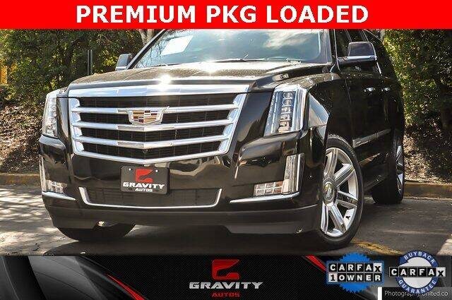 2020 Cadillac Escalade ESV for sale at Gravity Autos Atlanta in Atlanta GA