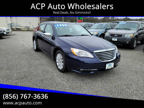 2014 Chrysler 200 for sale at ACP Auto Wholesalers in Berlin NJ