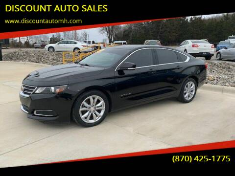 2016 Chevrolet Impala for sale at DISCOUNT AUTO SALES in Mountain Home AR