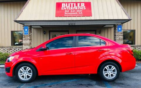 2016 Chevrolet Sonic for sale at Butler Enterprises in Savannah GA