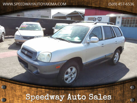 2005 Hyundai Santa Fe for sale at Speedway Auto Sales in Yakima WA