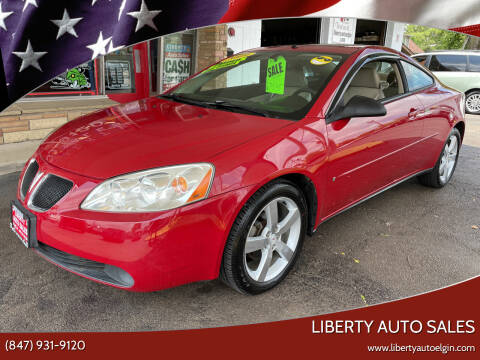 2006 Pontiac G6 for sale at Liberty Auto Sales in Elgin IL