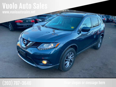 2016 Nissan Rogue for sale at Vuolo Auto Sales in North Haven CT