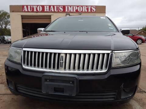 2006 Lincoln Zephyr for sale at Auto Haus Imports in Grand Prairie TX