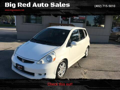 2007 Honda Fit for sale at Big Red Auto Sales in Papillion NE