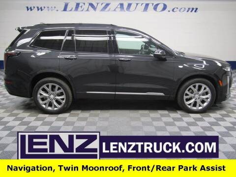 2020 Cadillac XT6 for sale at LENZ TRUCK CENTER in Fond Du Lac WI