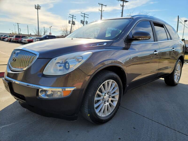 2010 Buick Enclave for sale at ZNM Motors in Irving TX