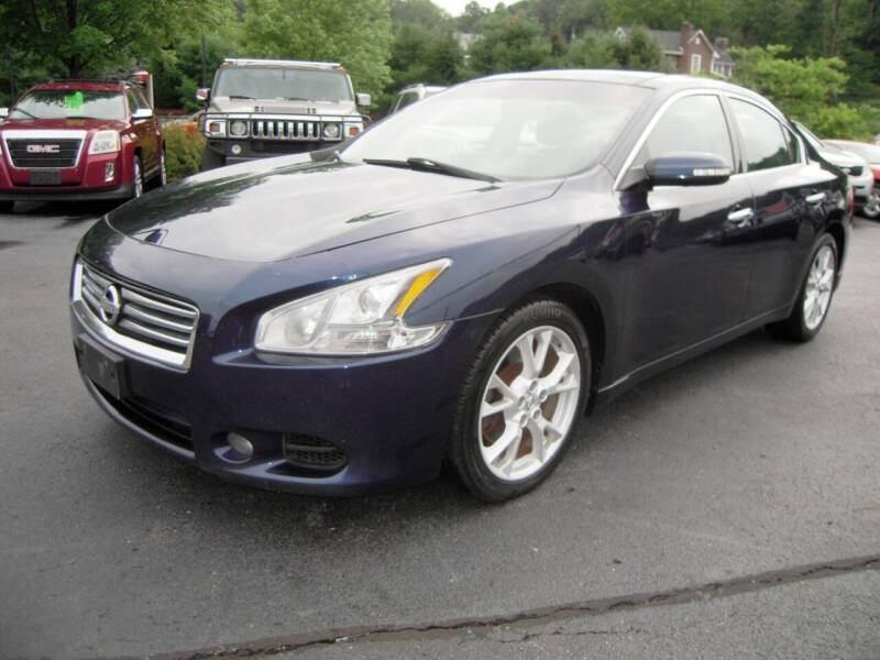 2014 Nissan Maxima for sale at 1-2-3 AUTO SALES, LLC in Branchville NJ