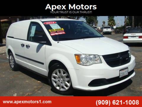 2014 RAM C/V for sale at Apex Motors in Montclair CA