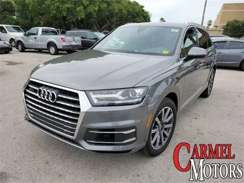 2017 Audi Q7 for sale at Carmel Motors in Indianapolis IN