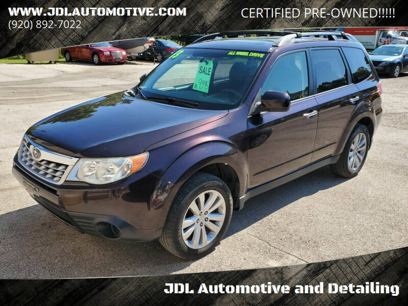 2013 Subaru Forester for sale at JDL Automotive and Detailing in Plymouth WI