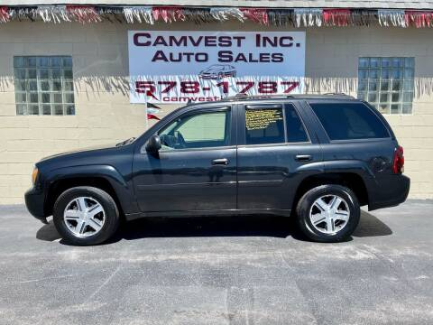 2008 Chevrolet TrailBlazer for sale at Camvest Inc. Auto Sales in Depew NY