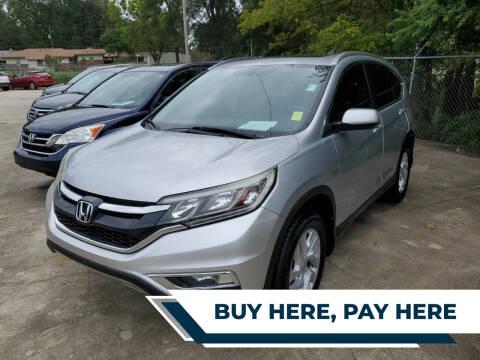 2015 Honda CR-V for sale at TR Motors in Opelika AL
