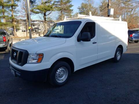 2013 Nissan NV Cargo for sale at Topham Automotive Inc. in Middleboro MA