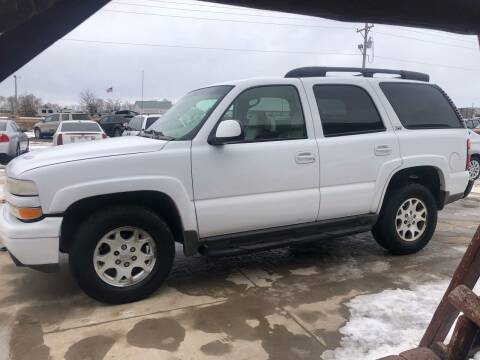 2003 Chevrolet Tahoe for sale at TnT Auto Plex in Platte SD