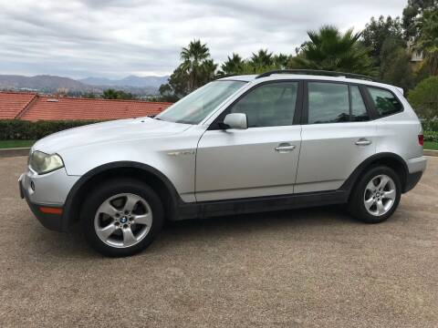 2007 BMW X3 for sale at CALIFORNIA AUTO GROUP in San Diego CA
