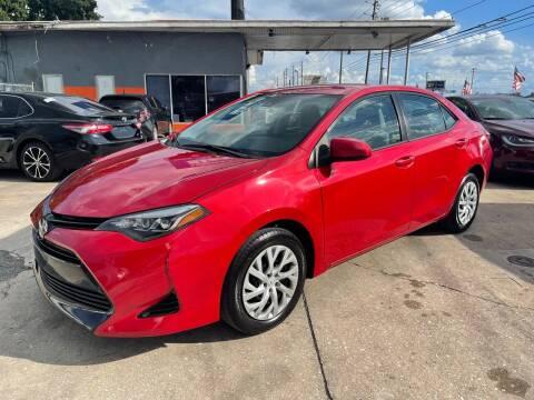 2017 Toyota Corolla for sale at P J Auto Trading Inc in Orlando FL