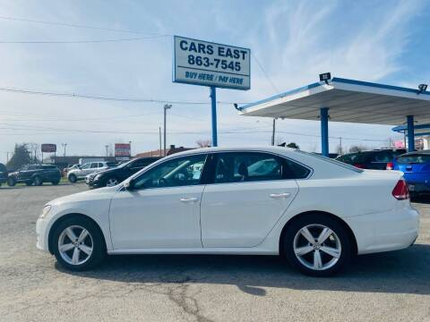 2014 Volkswagen Passat for sale at Cars East in Columbus OH