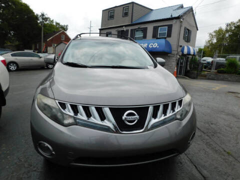 2009 Nissan Murano for sale at WOOD MOTOR COMPANY in Madison TN