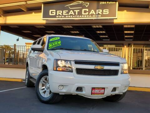 2012 Chevrolet Suburban for sale at Great Cars in Sacramento CA