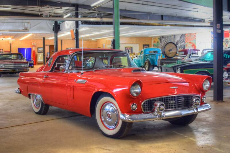 1956 Ford Thunderbird for sale at Hooked On Classics in Watertown MN