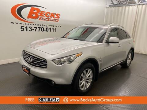 2011 Infiniti FX35 for sale at Becks Auto Group in Mason OH