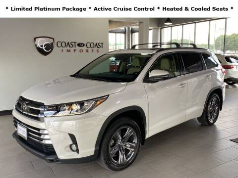 2018 Toyota Highlander for sale at Coast to Coast Imports in Fishers IN