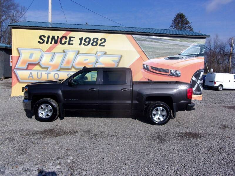 2016 Chevrolet Silverado 1500 for sale at Pyles Auto Sales in Kittanning PA