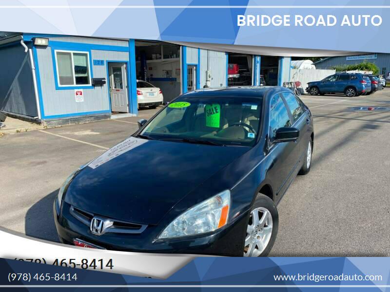 2005 Honda Accord for sale at Bridge Road Auto in Salisbury MA