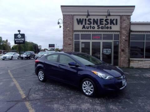 2013 Hyundai Elantra for sale at Wisneski Auto Sales, Inc. in Green Bay WI