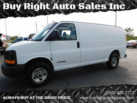 2005 GMC Savana Cargo for sale at Buy Right Auto Sales Inc in Fort Wayne IN