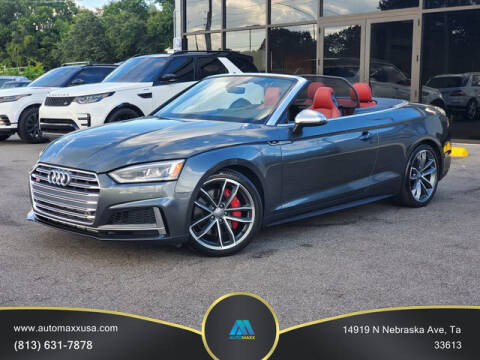 2018 Audi S5 for sale at Automaxx in Tampa FL