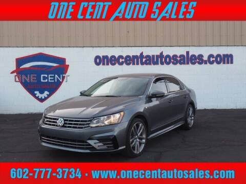 2017 Volkswagen Passat for sale at One Cent Auto Sales in Glendale AZ