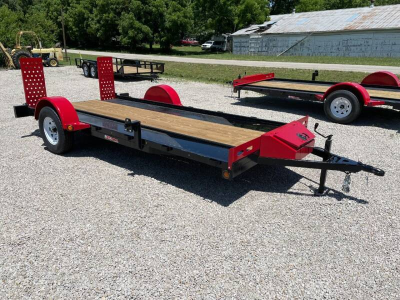 "2021 GRtrailers 77""x14' UTV RZR trailer for sale at Bailey Auto in Pomona KS"