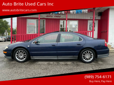 2004 Chrysler 300M for sale at Auto Brite Used Cars Inc in Saginaw MI