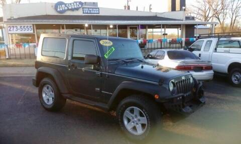 2008 Jeep Wrangler for sale at Jim Clark Auto World in Topeka KS