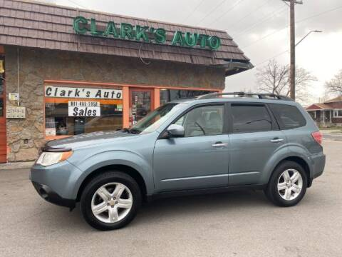 2009 Subaru Forester for sale at Clarks Auto Sales in Salt Lake City UT