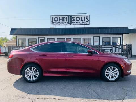 2016 Chrysler 200 for sale at John Solis Automotive Village in Idaho Falls ID