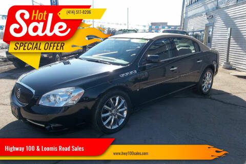 2007 Buick Lucerne for sale at Highway 100 & Loomis Road Sales in Franklin WI